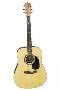 Steel string acoustic guitar