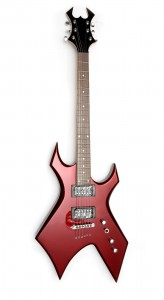 BC Rich electric guitar