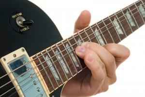 String Bend on guitar