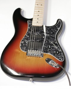 Custom Fender Stratocaster electric guitar